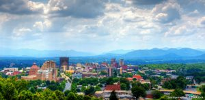 Asheville Skyline on a Pretty Day
