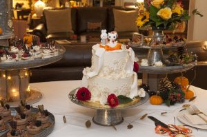 Wedding Cake at The Orchard Inn