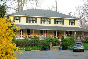 Front of Orchard Inn