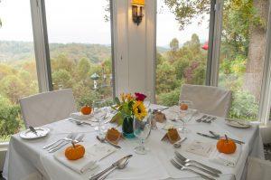 October Wedding Reception