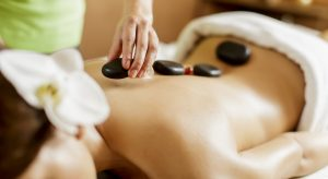 hot stone massage at The Orchard Inn