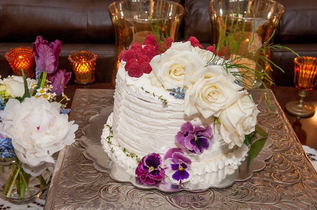 Wedding Cake for Hadley _ Chris' Wedding