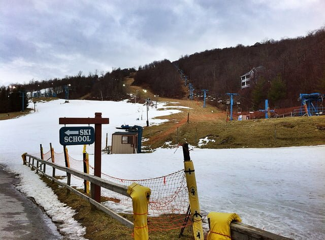 Skiing Near Asheville NC