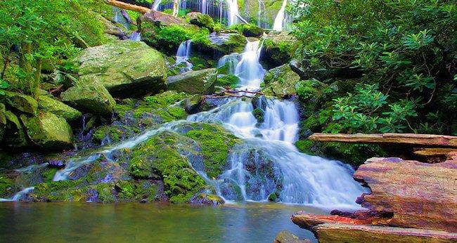 waterfalls in Western NC