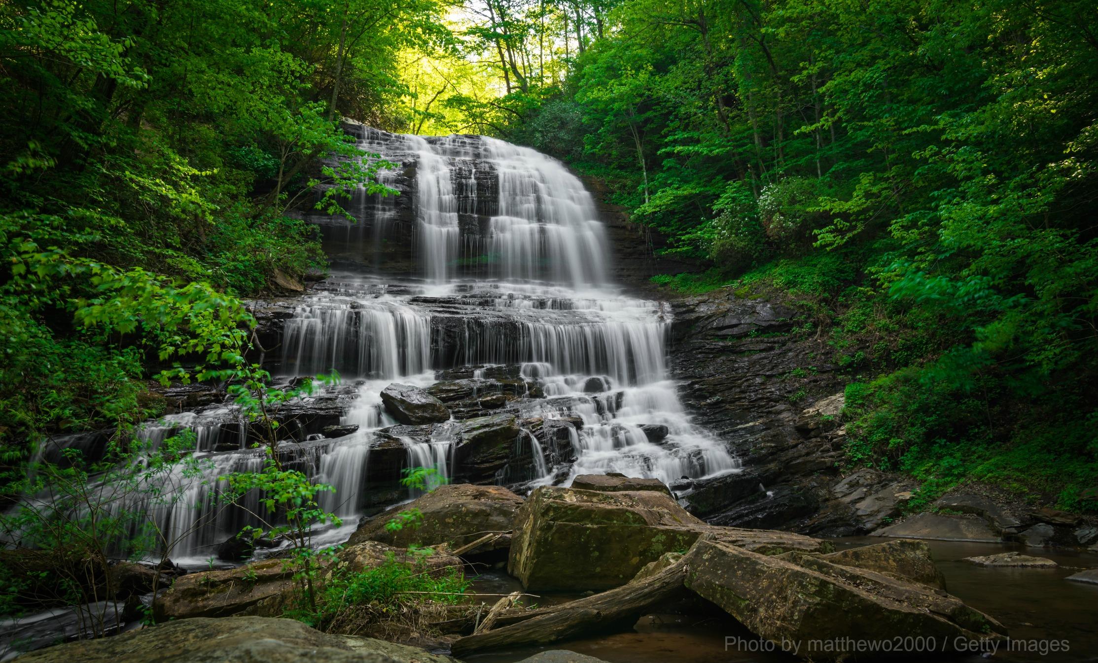 Hiking Pearson's Falls