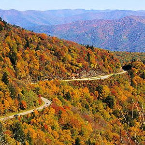 North Carolina fall foliage