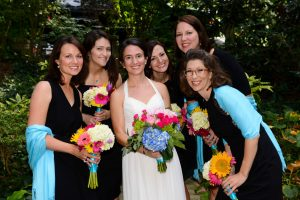 Wedding party at Orchard Inn