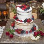 Lacey & Joel's Wedding Cake