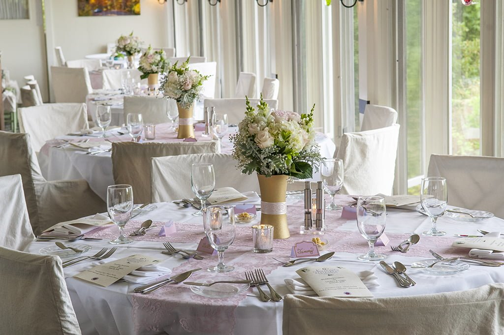 Lindsay & Logan Wedding Reception Tables