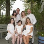 Family after the wedding