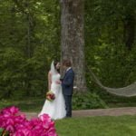 Outdoor wedding at The Orchard Inn