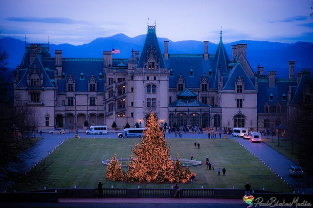 the biltmore estate christmas celebration is magical