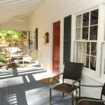 Laurel Cottage screened in porch