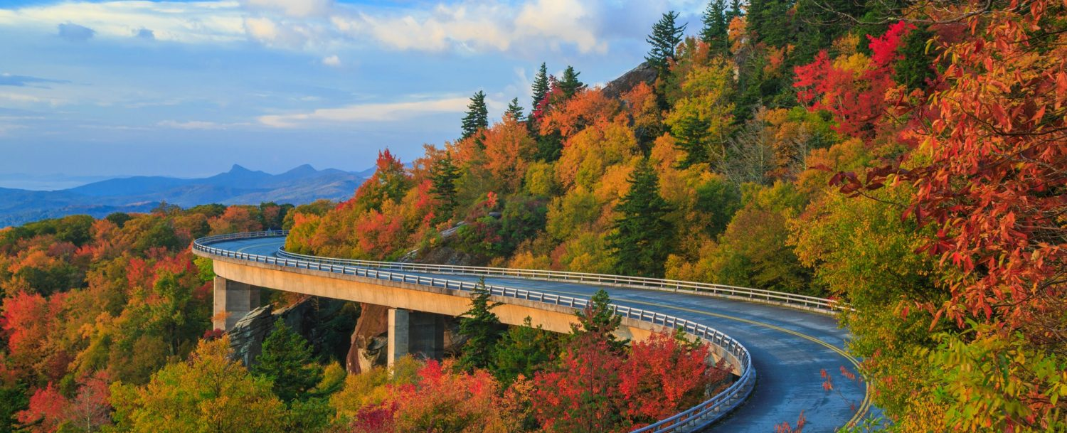 The Blue Ridge Parkway Near Asheville Is One Of The Most