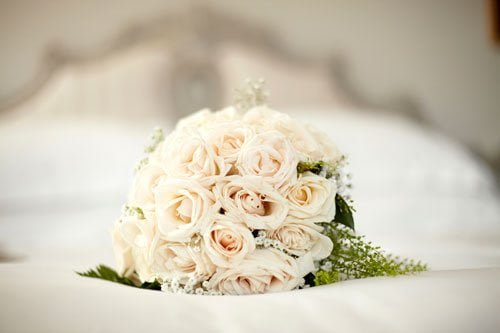 light pink flower bouquet