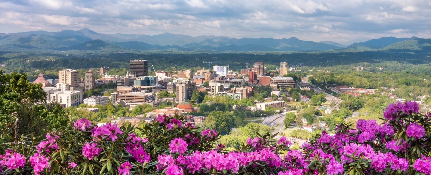 asheville in spring