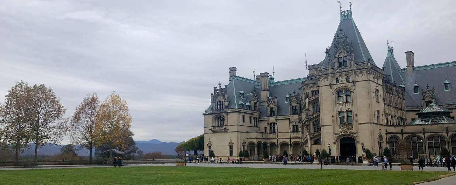 The Biltmore house in asheville nc