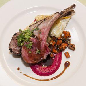 Lamb Chops at Newman's Restaurant