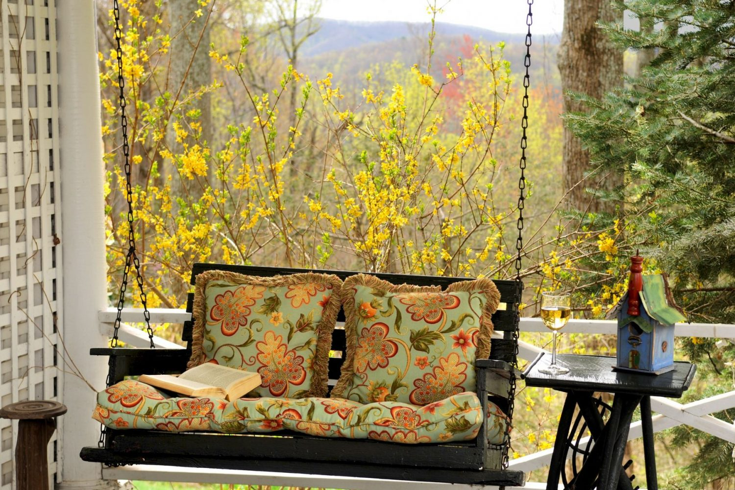 swing during your weekend getaway in north carolina
