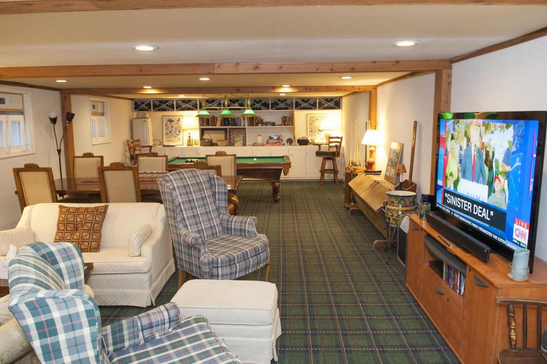 conference and entertainment room at The Orchard Inn