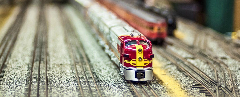 model train in museums in north carolina