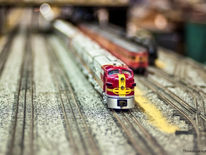 model train in museums in north carolina