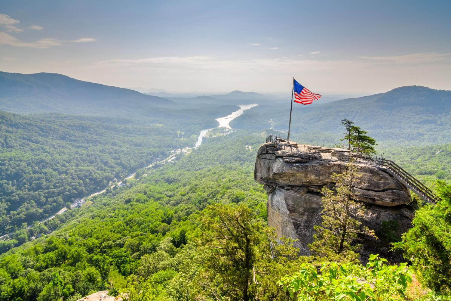 Chimney Rock State Park view