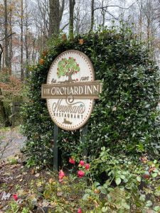 orchard inn sign