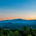 Summer Blue Ridge Mountains