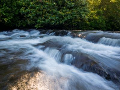 Pisgah National Forest Falls Cascade