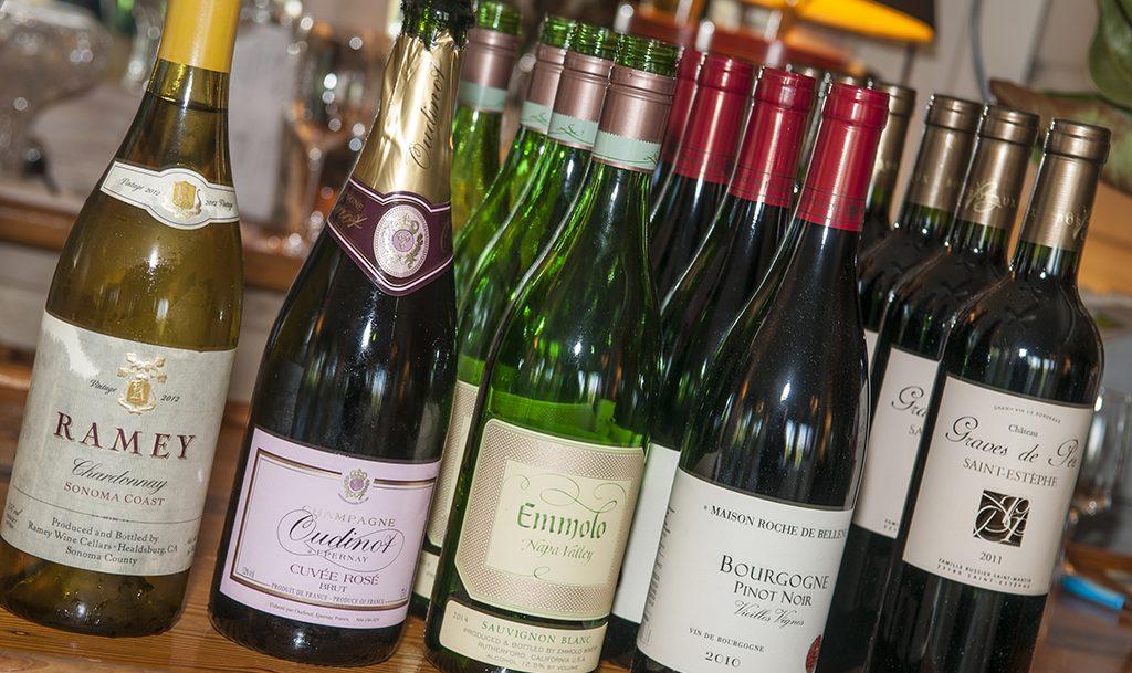 Wines at Orchard Inn