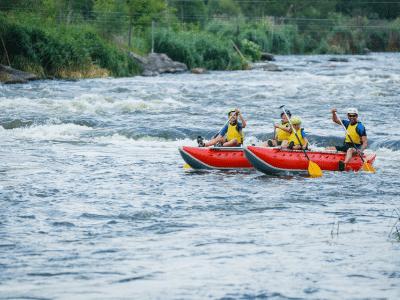 River Raft Race
