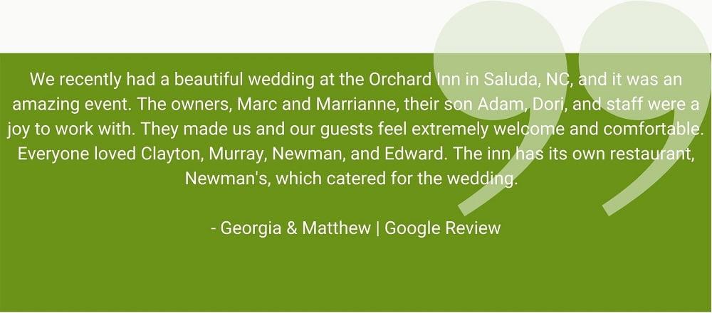 georgia and matthew review